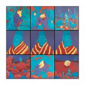 Human, Gerhard | Grid ( Set of 9 Paintings)