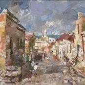 Sold | Boonzaier, Gregoire | Street Scene