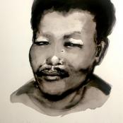 Dumas, Marlene | Portrait of a young Nelson Mandela