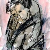 Sold | Claerhout, Frans | Kneeling figure