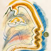 Coetzee, Christo | Yellow and green profile