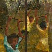Currie-Wood, Edin | Children swinging