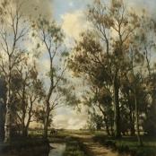 Sold | de Jongh, Tinus | Sand pathway next to river