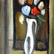 Sold | Domsaitis, Pranas | Jug with flowers
