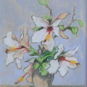 Sold|Theys, Conrad | White Hibiscus