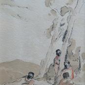 Sold |Battiss, Walter | African figures