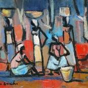 Sold|Van Essche, Maurice | Washer women