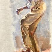 Oerder, Frans | Dancing Man, Signed