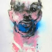 Van der Merwe, Schalk | Visceral#47, Signed