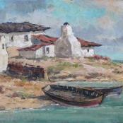 Sold | Klar, Otto | The Fishermen's boat