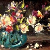 Sold | Klar, Otto | Vase of flowers