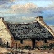 Sold | Klar, Otto | Landscape with cottages