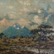 Sold |Klar, Otto | Landscape