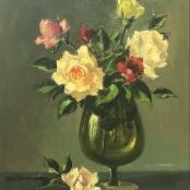 Sold| Klar, Otto | Still life, Roses