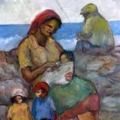 Sold | Langdown, Amos |  Family fishing