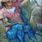 Sold | Langdown, Amos | Couple lying on floor
