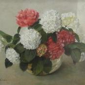 Oerder, Frans | Still life of Hydrangeas