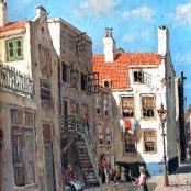 Sold | De Jongh, Tinus | Street Scene