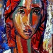 Sold | Niemann Jnr, Hennie | African Madonna
