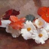 Sold | Oerder, Frans | Still life of flowers