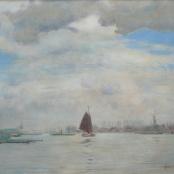 Sold | Oerder, Frans | Harbour Scene