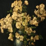 Sold | Oerder, Frans | Flowers in green vase