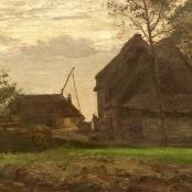 Sold | Oerder, Frans | Farm Landscape