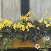 Sold | Oerder, Frans | Flowers in a window box