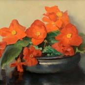 Sold | Oerder, Frans | Orange flowers