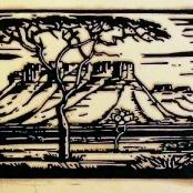 Sold | Pierneef, JH | Doringboom - Landscape