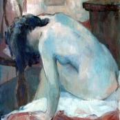 Sold   Rose-Innes, Alexander   Nude lady figure