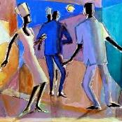 Sold | Sekoto, Gerard | Dancing figures