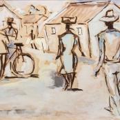 Sekoto, Gerard | Figures on the street