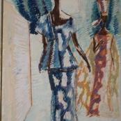 Sold | Sekoto, Gerard | Lady Figures