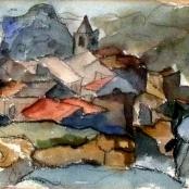 Sold    Sumner, Maud   Les Baux