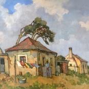 Theys, Conrad | Labourer's cottage, Arbeiders woning, Philippi