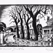 Botha, David | Street scene, Edition 44 of 100