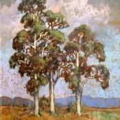 Sold   Theys, Conrad   Bluegum trees
