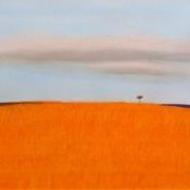 Sold   Van Der Westhuizen, Pieter   Orange Landscape