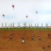 Sold |Van der Westhuizen, Pieter | Flying Kites