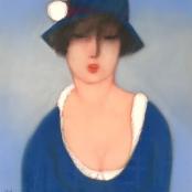 Sold   Van der Westhuizen, Pieter    Dressed in Blue