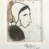 Van der Westhuizen, Pieter   Portrait of a Lady