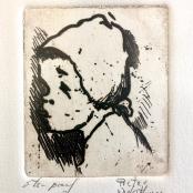 Sold | Van der Westhuizen, Pieter | Portrait of a child