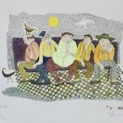 Van der Westhuizen, Pieter | Five men