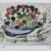 Van der Westhuizen, Pieter | Bowl of flowers