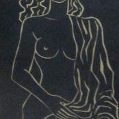 Sold  Van Essch, Maurice   Nude Study