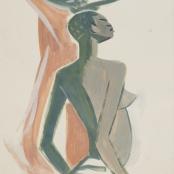Sold   Van Essche, Maurice   Congolese Woman