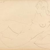 Sold   Van Essche, Maurice   Female nude