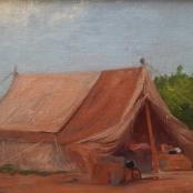 Pierneef, J.H | The bush camp