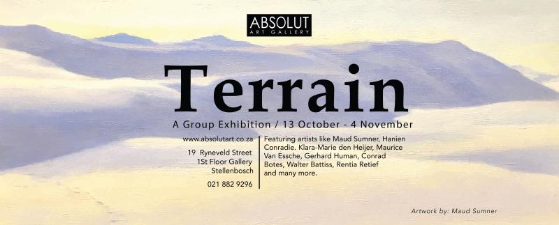 Terrain - A Group Exhibition 13 October - 4 November 2017